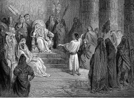 José interpreta el sueño del faraón 1